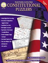 Constitutional Puzzlers, Grades 4 - 8