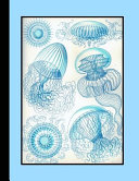 Vintage Botanical Illustration Journal: Ernst Haeckel - Leptomedusae Sealife - The Large Botanical Journal for the Marine Life, Shellfish and Sealife