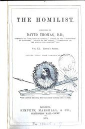 The Homilist; or, The pulpit for the people, conducted by D. Thomas. Vol. 1-50; 51, no. 3- ol. 63: Volume 26