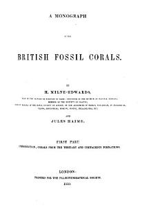 A Monograph of the British Fossil Corals PDF
