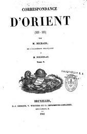 Correspondance d'Orient: 1830-1831