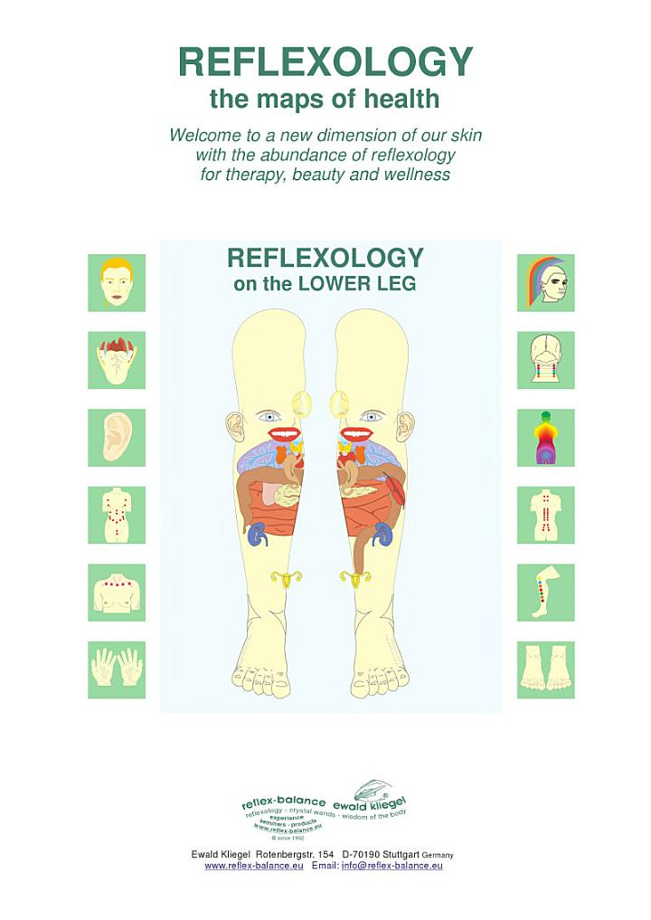 REFLEXOLOGY on the LOWER LEG