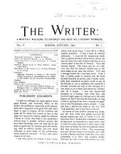 The Writer: Volume 5