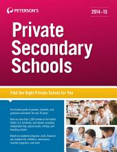 Private Secondary Schools 2014-2015: Edition 35