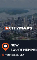 City Maps New South Memphis Tennessee, USA