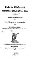 Licht oder Finsterni    Wahrheit oder L  ge  Segen oder Fluch PDF
