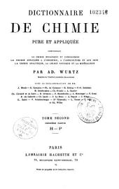 Dictionnaire de chimie pure et appliquée