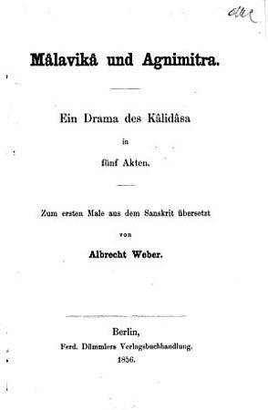 M  lavik   und Agnimitra PDF