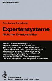 Expertensysteme: Nicht nur für Informatiker, Ausgabe 2