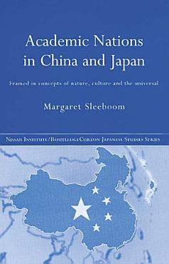 Academic Nations in China and Japan PDF