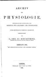 Archiv für Physiologie: Band 1892