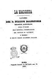 La Madonna lavoro del p. Filippo Balzofiore ..