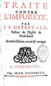 Traité contre l'impureté par J. F. Ostervald