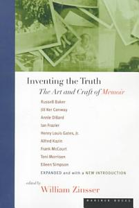 Inventing the Truth Book