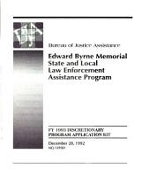 The Edward Byrne Memorial State and Local Law Enforcement Assistance Program PDF