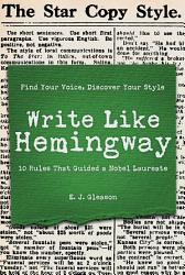 Write Like Hemingway Book PDF