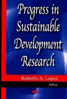 Progress in Sustainable Development Research PDF