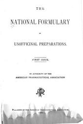 The National Formulary of Unofficial Preparations