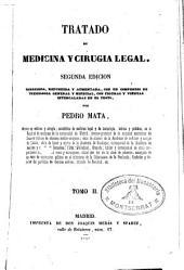 Tratado de medicina y cirugia legal, 2