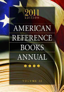 American Reference Books Annual 2011 PDF