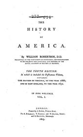 The History of America: Volume 1