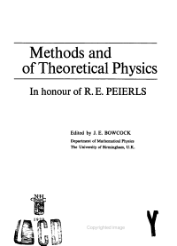 Methods and Problems of Theoretical Physics PDF