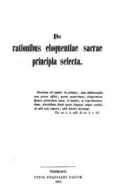 De rationibus eloquentiae sacrae principia selecta