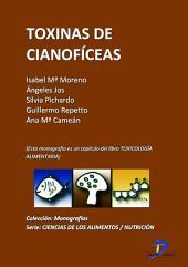 Toxinas cianofíceas: Toxicología alimentaria