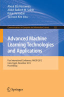 Advanced Machine Learning Technologies and Applications