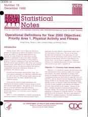 Healthy People 2000 Statistical Notes