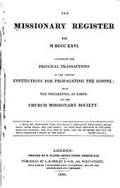 Missionary Register: Volume 14