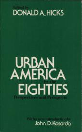 Urban America in the Eighties: Perspectives and Prospects : Report of the Panel on Policies and Prospects for Metropolitan and Nonmetropolitan America