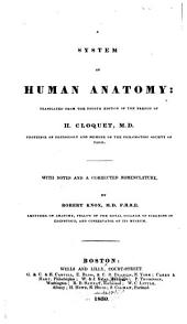 A System of Human Anatomy: Translated from the Fourth Edition of the French of H. Cloquet