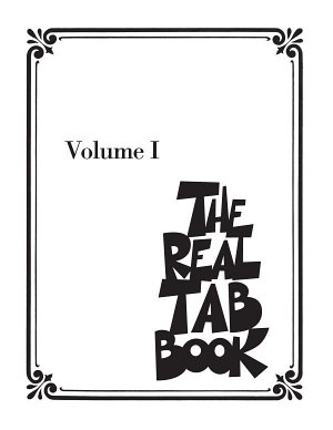 The Real Tab Book   Vol  1  Songbook  PDF