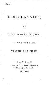Miscellanies: Volume 1