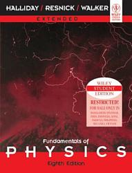 Fundamentals Of Physics Extended 8th Ed Book PDF