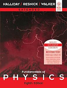 FUNDAMENTALS OF PHYSICS EXTENDED  8TH ED PDF