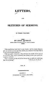 Letters, and Sketches of Sermons: Volume 2