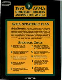 AVMA Directory PDF