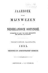Jaarboek van het mijnwezen in Nederlandsch-Indië: Volume 14,Nummer 1