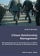 Citizen relationship Management PDF