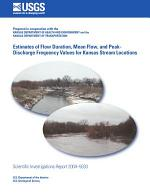 Estimates of flow duration, mean flow, and peak-discharge frequency values for Kansas stream locations