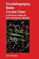Crystallography Made Crystal Clear PDF