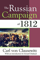 The Russian Campaign of 1812 PDF