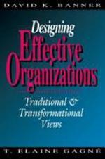 Designing Effective Organizations