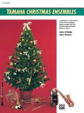 Yamaha Christmas Ensembles (Flute, Oboe): Christmas Sheet Music