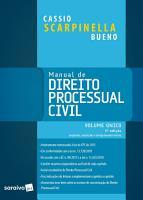 Manual de direito processual civil  volume   nico   5ed PDF