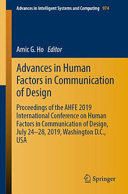 Advances in Human Factors in Communication of Design PDF