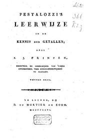 Pestalozzi's Leerwijze in de kennis der getallen