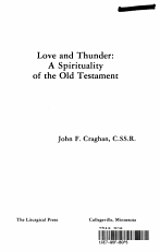 Love and Thunder  a Spirituality of the Old Testament PDF